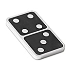 Degussa Domino game - Comes with Set of 28 Bars  thumbnail