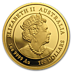 Australian Gold Lunar Series 2020 - Year of the Mouse - Proof - 1 oz thumbnail