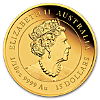 Australian Gold Lunar Series 2020 - Year of the Mouse - Proof - 1/10 oz thumbnail