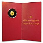 Happy Diwali Gold Coin - 1 g - With Greeting Card thumbnail