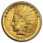Indian Gold Eagle (USA) 1915 - Indian Head - 15.045 g  thumbnail