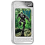 Tuvalu Silver Transformers: Age of Extinction – Lockdown 2014 - Circulated in good condition - 1 oz thumbnail