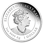 Australian Silver Lunar Series 2020 - Year of the Mouse - Proof - 1 oz thumbnail