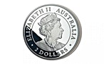 Australian Silver Wedge Tailed Eagle 2019 - Piedfort Proof - 2 oz  thumbnail