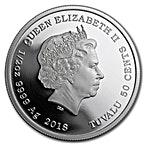 Australia Silver Border Collie 2018 - 1/2 oz thumbnail