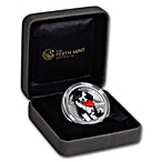 Australia Silver Border Collie 2018 - 1/2 oz thumbnail