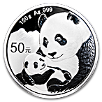 Chinese Silver Panda 2019 - Proof - 150 g thumbnail