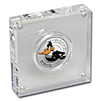 Tuvalu Silver Looney Tunes Daffy Duck 2018 - 1/2 oz thumbnail