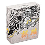 Tuvalu Silver Qilin 2018 - With box & COA - Antiqued Finish - 2 oz thumbnail