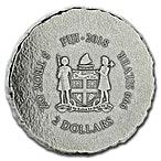 Fiji Silver Terracotta Army 2018 - 5 oz  thumbnail