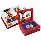 Niue Silver Disney Pixar Toy Story 2018 - Sheriff Woody - 1 oz thumbnail