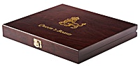 Display box for Queen's Beast 2 oz Silver coins