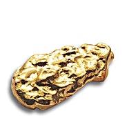Degussa Gold Nugget Pendant - 10 g