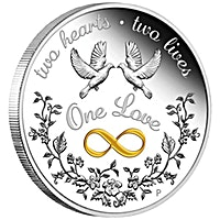 Australian Silver One Love 2020 - 1 oz
