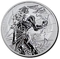 Tuvalu Silver Gods Of Olympus 2020 - Zeus - 1 oz