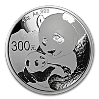 Chinese Silver Panda 2019 - Proof - 1 kg