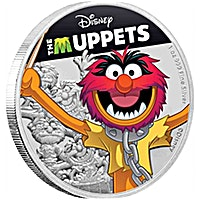 Niue Silver Disney: The Muppets - Animal 2019 - 1 oz