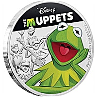 Niue Silver Disney: The Muppets - Kermit The Frog 2019 - 1 oz