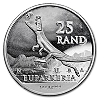 South African Silver Natura Archosaur 2019 - 1 oz