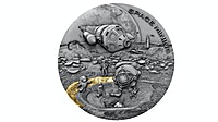 Niue Silver Space Mining 2019 - 1 oz