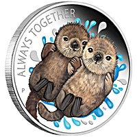 Australian Silver Always Together - Otter - 2020 - 1/2 oz