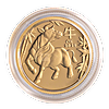 Australian Gold Lunar Series 2021 - Year of the Ox - Proof - 1/10 oz