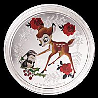 Niue Silver Disney Christmas Season's Greeting 2020 - 1 oz