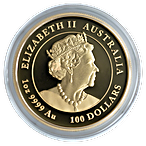Australian Gold Lunar Series 2021 - Year of the Ox - Proof - 1 oz thumbnail
