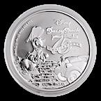 Niue Silver Disney Daisy Duck 2015  - 1 oz thumbnail