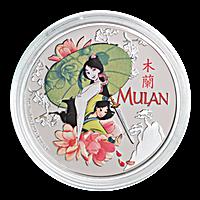 Niue Silver Disney Princess 2021 - Mulan - 1 oz