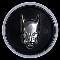 Niue Silver DC Comics 2020 - Batman Cowl Mask - Ultra High Relief - 2 oz