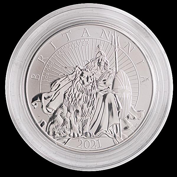 United Kingdom Silver Britannia Core Range - 2 coin set - Proof and Reverse Proof - 2 oz