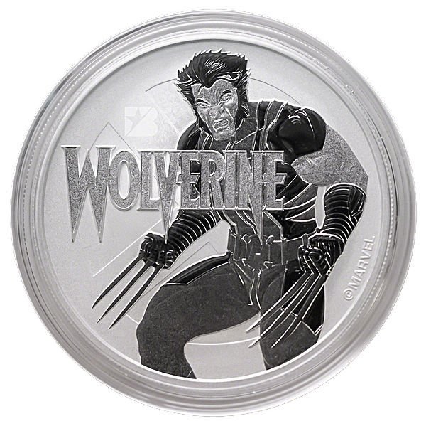 Tuvalu Silver Marvel Series 2021 - Wolverine - 1 oz