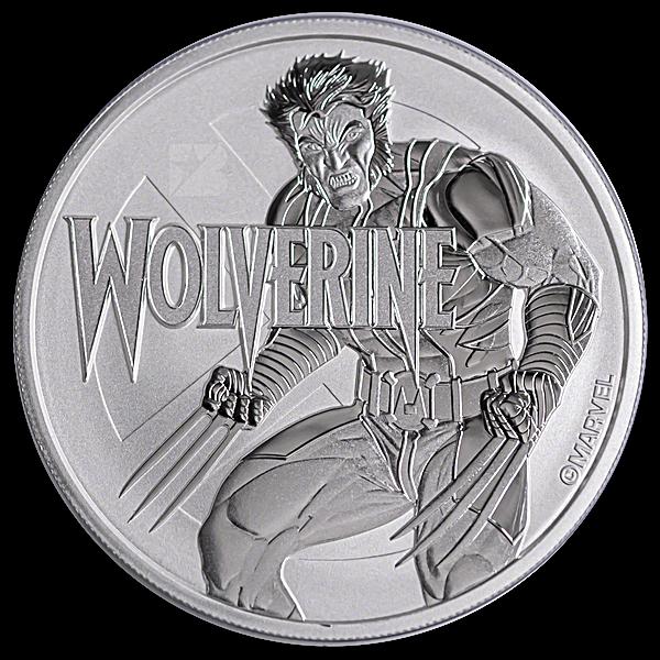 Tuvalu Silver Marvel Series 2021 - Wolverine - In Card - 1 oz