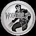 Tuvalu Silver Marvel Series 2021 - Wolverine - 1 oz thumbnail