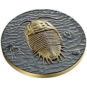 Niue Silver Evolution of Earth 2016 - Trilobites - With box and certificate of authenticity - 1 oz