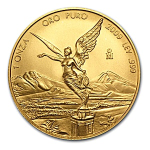 Mexican Gold Libertad 2009 - Graded MS 69 by NGC - 1 oz