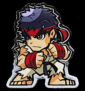 Fiji Silver Street Fighter Series - Ryu - 1 oz