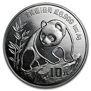 Chinese Silver Panda 1990 - 1 oz
