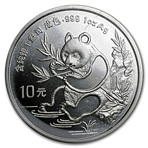 Chinese Silver Panda 1991 - 1 oz