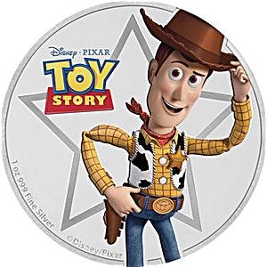 Niue Silver Disney Pixar Toy Story 2018 - Sheriff Woody - 1 oz