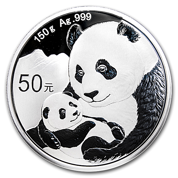 Chinese Silver Panda 2019 - Proof - 150 g
