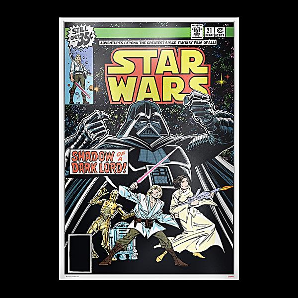 Niue Silver Star Wars comic book poster 2019 - 35 g