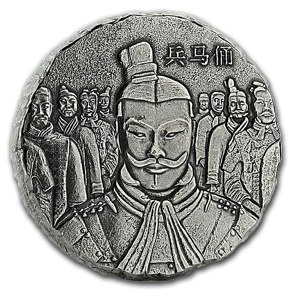 Fiji Silver Terracotta Army 2018 - 5 oz
