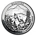 American Silver America the Beautiful 2011 - Glacier National Park - 5 oz thumbnail