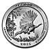 American Silver America the Beautiful 2015 - Kisatchie National Forest - 5 oz thumbnail