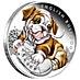 Australia Silver English Bulldog 2018 - 1/2 oz thumbnail