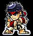 Fiji Silver Street Fighter Series - Ryu - 1 oz  thumbnail