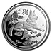 Australian Silver Lunar Series 2018 - Year of the Dog - Proof - With Box and COA - 1 oz thumbnail