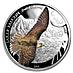 Mongolia Silver Saker Falcon 2015 - 1/2 oz thumbnail